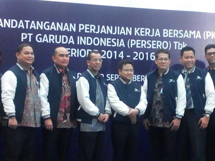 PKB Garuda Indonesia 2014-2016