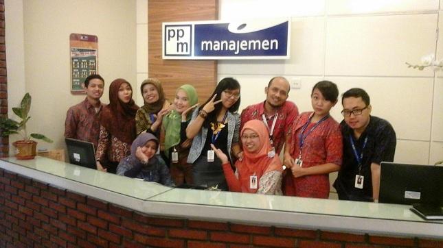 PPM manajemen bagian Customer Relations