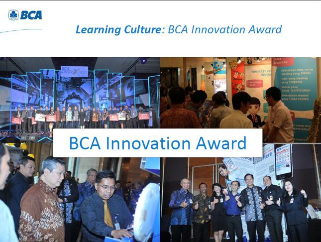 BCA Innovation Award